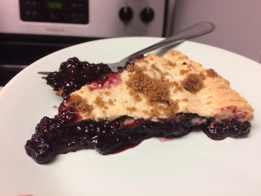 Week of Nov. 6 – Pie #1: Triple Berry Jam Pie